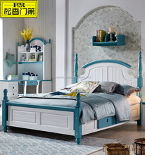pictures of wood double bed for boys