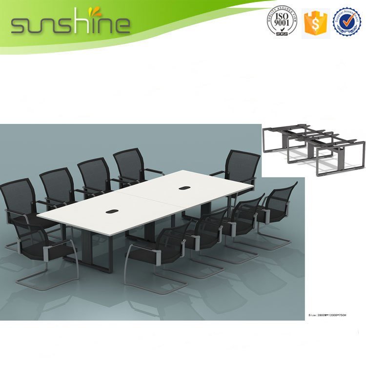 Office furniture conference desk negotiation table 10 for 10 person table