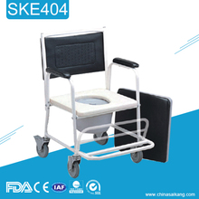 Hospital Furniture Cheap Lightweight Toilet Bath Chair For Disabled People