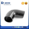 90 Degree Silicone Hose Elbow Bend 57mm Black Rubber Coolant Radiator Pipe