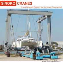 100t mobile boat lift hoist for sale