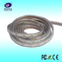 AC110-240V color changing led neon flex rope light with 5-100m long