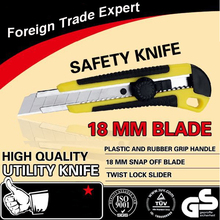18mm Blade Snap-off Utility Knife