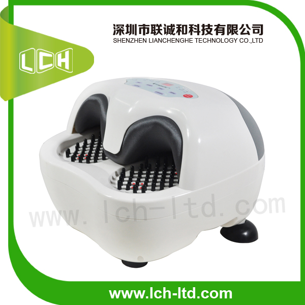 2014 new design anion sterilization foller air pressure heating foot massager