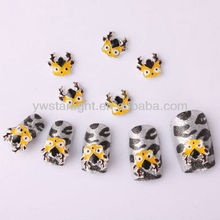 Silver 3D Carve Alloy Rhinestones Bow Tie Nail Art DIY products