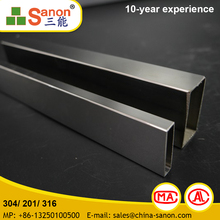 Stainless Steel Tube 304 Outer Diameter 38.1 Mm Polished Grit 600# Surface Finish