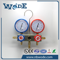 ISO9001 factory testing manifold pressure gauges