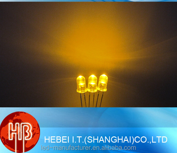 5mm Led Diode Chip For Led Traffic Signal Lamp