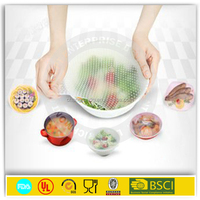 NEW material pvc cling film top quality China Hand and machine silicone cling film