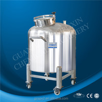 spx stainless steel storage tank container