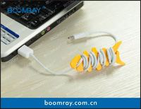 useful and cute cable headset connector mobile phone charger dock