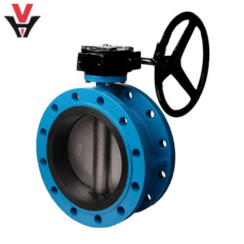 standard low pressure doulbe flanged concentric Butterfly Valve