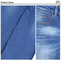 Multi-color Blue Black Indigo Pantone or Customer's Request 100% cotton denim jeans fabric