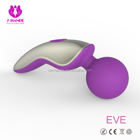 S-Hande New family member ---big round ball head C shape Vibrator massager