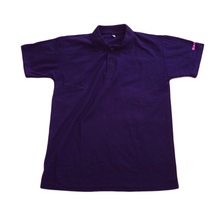 Mens Womens Promotion Sports Cotton Embroidery High Quality Dark Purple Polo Shirts