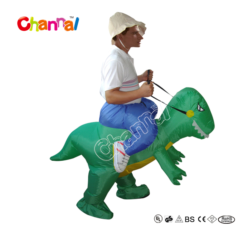 Cheap Wholesale Inflatable Walking Dinosaur Costume For Adults And Kids