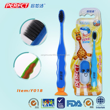 Cheap kid disposable toothbrush with toothpaste