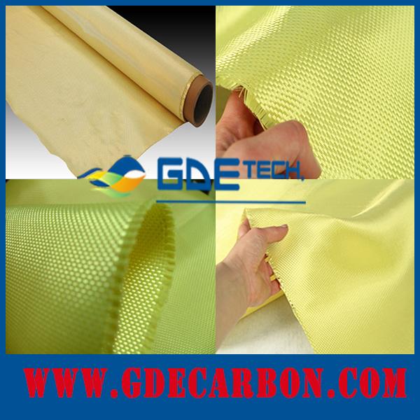 GDE Hot Sale NIJ IIIA Standard 1000D High Strength / para aramid Bulletproof Kevlar Fabric for Security & Protection