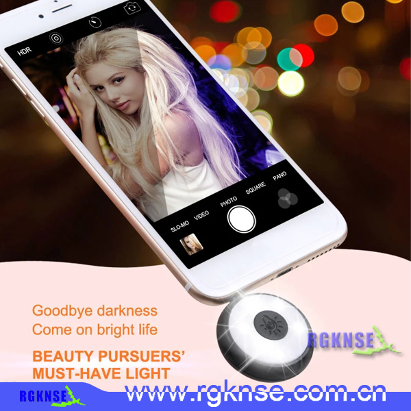 RK11 Cell Phone Selfie LED Flash Lighting Mobile Phone Camera Flash LED Fill Light