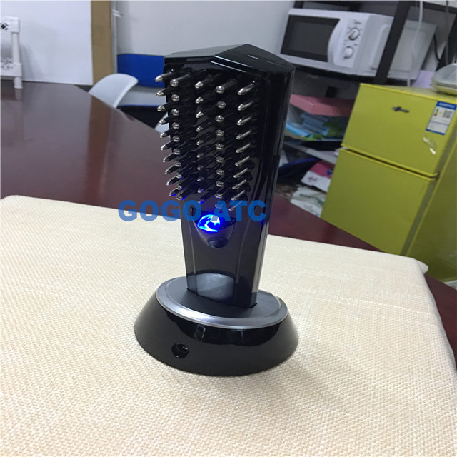 2019 New technology hair care safe electric laser hair regrowth comb/power grow laser comb