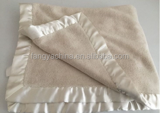 fangya directly supply new arrival cream beach polar fleece blanket
