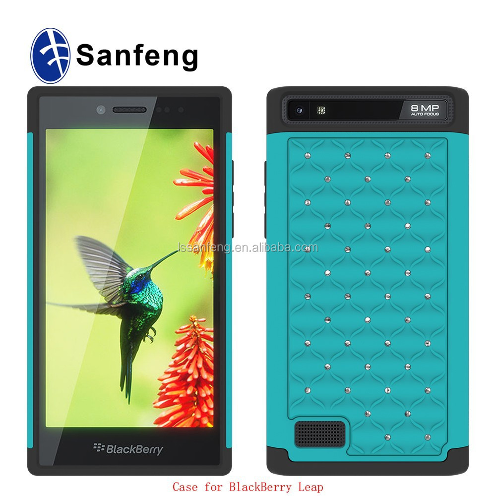 Manufacturer supply for Blackberry leap Z20 sublimation cell phone cases