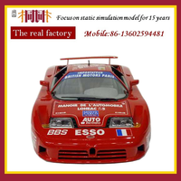 1:18 plastic f1 race diecast car model toy factory