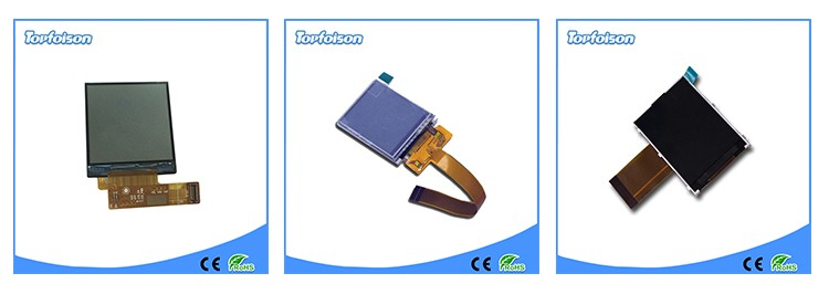 Free sample Topfoison 1.54 square touch panel 240*240 ips lcd panel wide lcd screen for smart watch