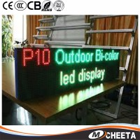 Outdoor Scrolling Display P10 Red Programmable