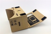 Google Cardboard vr glasses xnxx movies Google glasses 3D virtual reality 6 inch carton strong magnetic