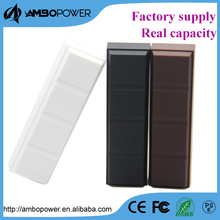 hot desgn chocolate shape mobile external battery charge 2200mah/2600mah