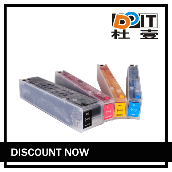 for HP 970 971 refill ink cartridge with ARC for HP officejet x451 x476 x551 x576