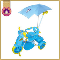 New Popular Models Foldable Canopy Push Along Toddlers Trikes