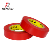 16mm*13m*0.18mm High Quality PVC Electricians Electrical Insulation Tape Red