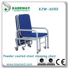 Accompanying chair hospital sofa bed for patient Carer