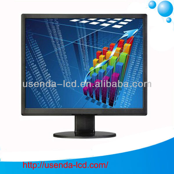 15 17 19 inch small lcd video monitor with VGA
