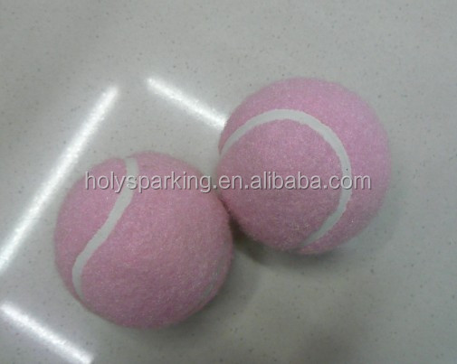 Cheap pink Promotional Custom Tennis Ball Manufacture