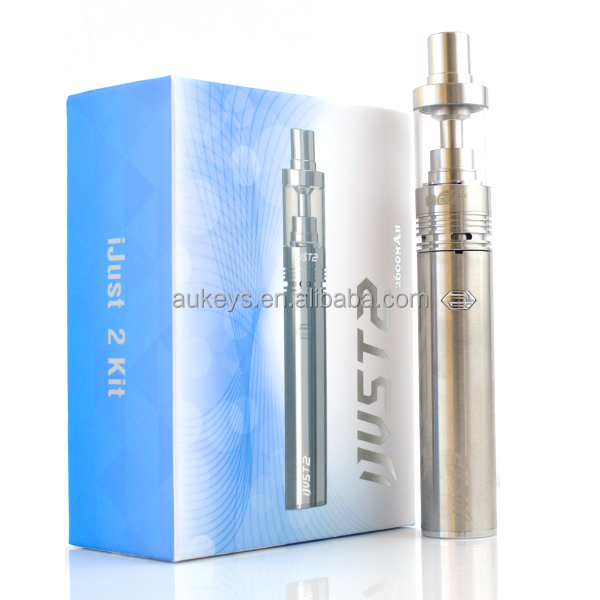 Most hottest ismoka iJust 2 Starter Kit with 5.5ml ijust 2 atomizer tank and 2600mah ijust 2 in stock