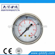 oil filled available price of pressure gauge