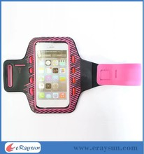 led light sport running jogging smartphone armband case for iphone6