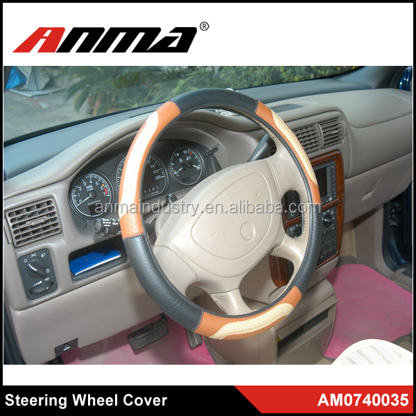 New Design Factoryprice heat resistant silicone steering wheel cover