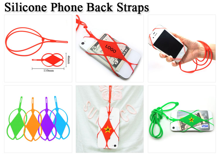 Promotional Silicone Lanyard Smart Phone Case Cover