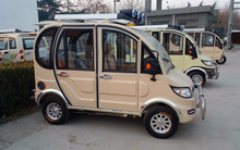 electric quadricycle/four wheels SMALL electric motor car/small ev car/voiture/ELECTRIC MOTORCYCLES 4100016