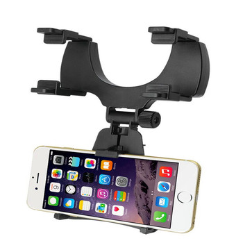 2017 Universal Car RearView Mirror Phone Holder/Plastic Stand Holder For Phones
