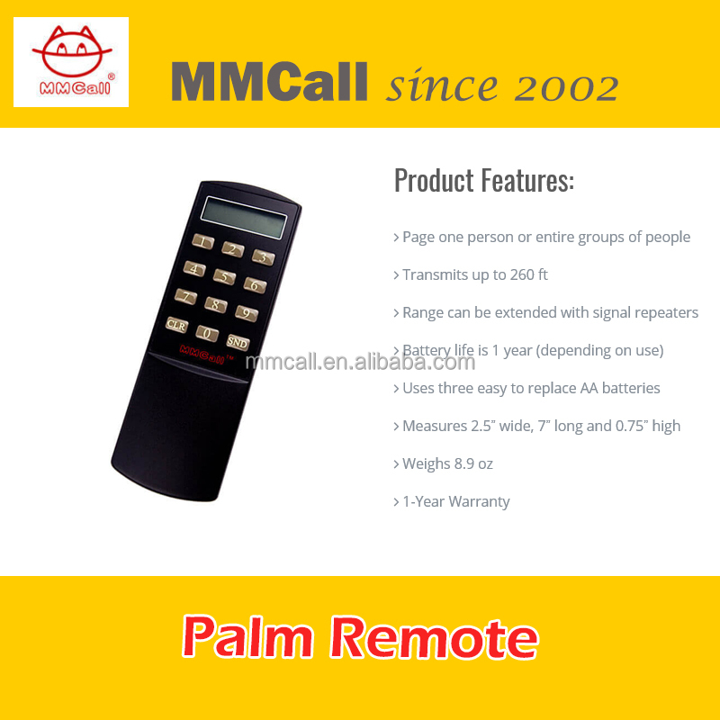 MMcall Wireless Wiater Call System Guest Call Button Kitchen Restaurant Receiver Wrist Watch pager