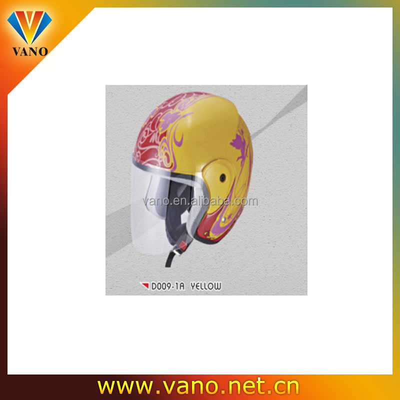 New design full face ski helmet decorative diving helmet design open face helmets D009-1A