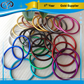 9 years alibaba quality foundry 3'' 2.5'' 2'' colorful baby wrap ring