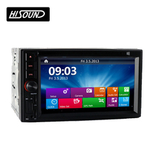 6.2Inch 2Din Universal 1080P Bluetooth Gps Car Head Unit