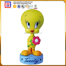 Custom Dashboard Bobble Head Figurines With Yellow Duck For Sale