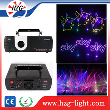 2w rgb laser projector advertising equipment 2000mw Rgb laser stage lighting Dmx 2w Rgb laser light show